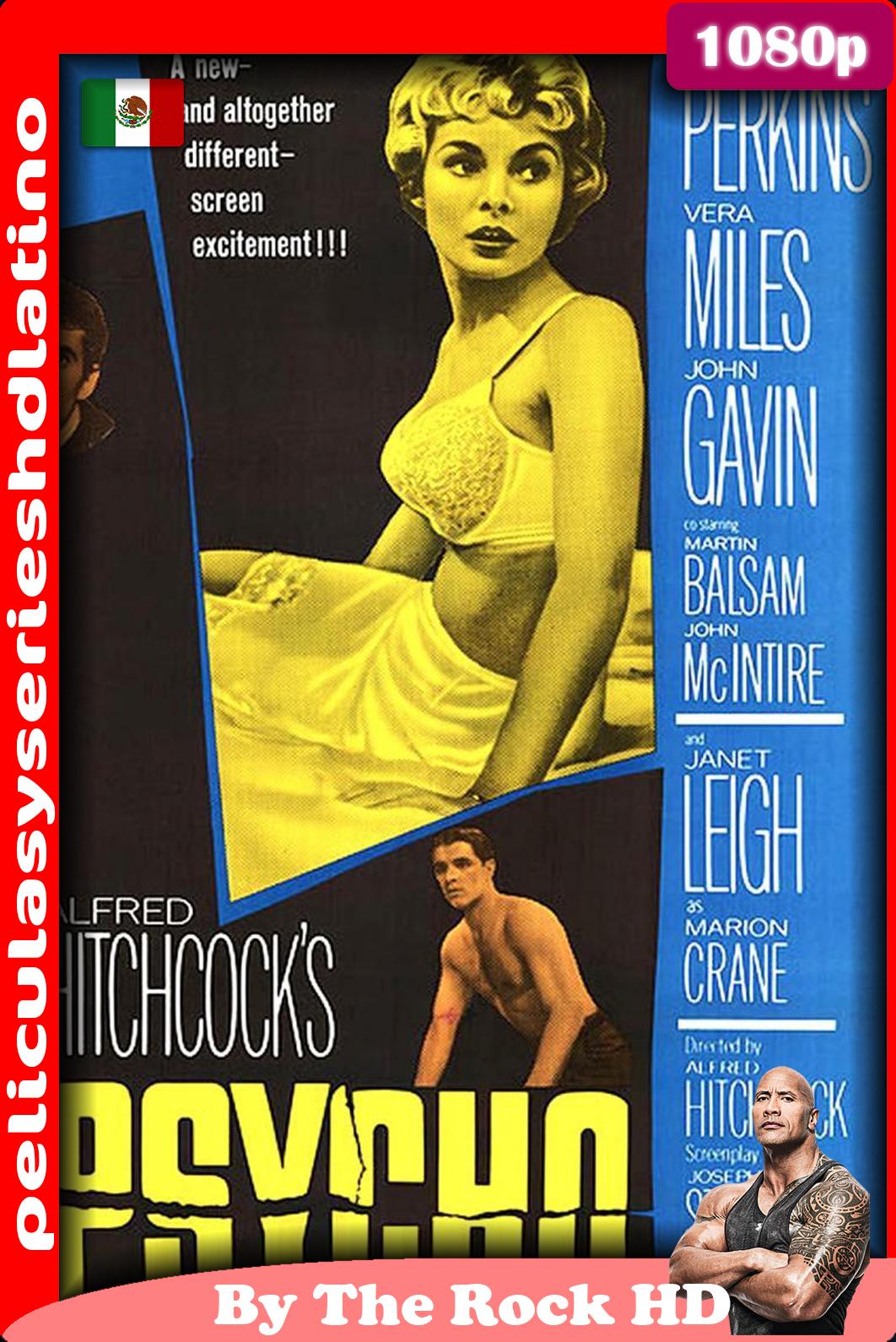 Psicosis, (1960) [1080p] [Latino] [Google Drive]