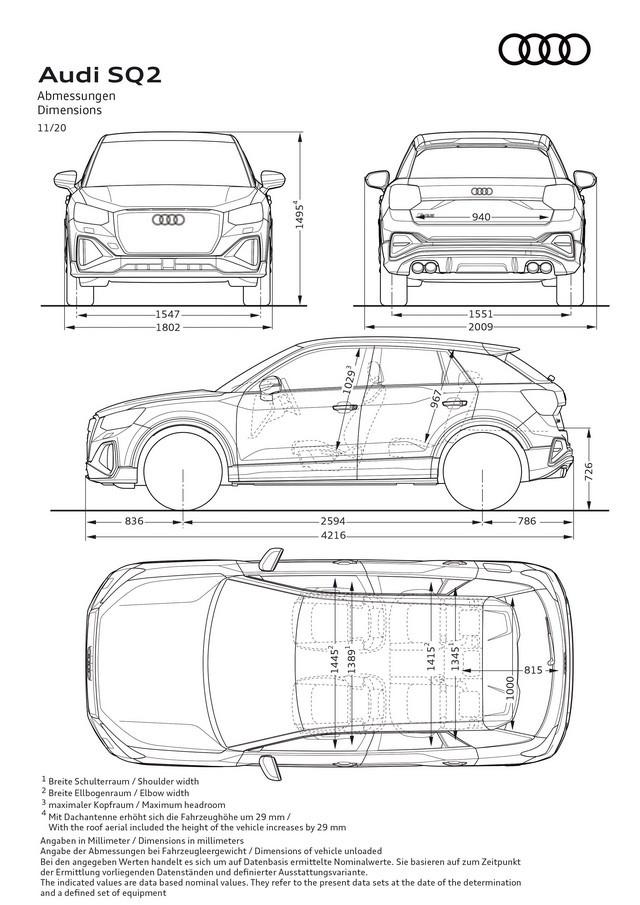 Voiture de sport compacte d'exception : Audi donne à l'Audi SQ2 un design encore plus abouti A208405-medium