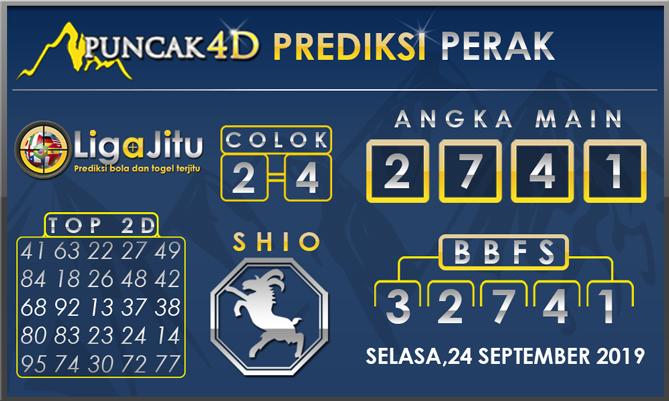 PREDIKSI TOGEL PERAK PUNCAK4D 24 SEPTEMBER 2019