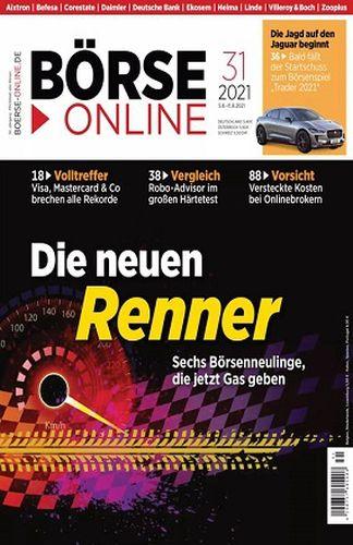 Cover: Börse Online Magazin No 31 vom 05  August 2021