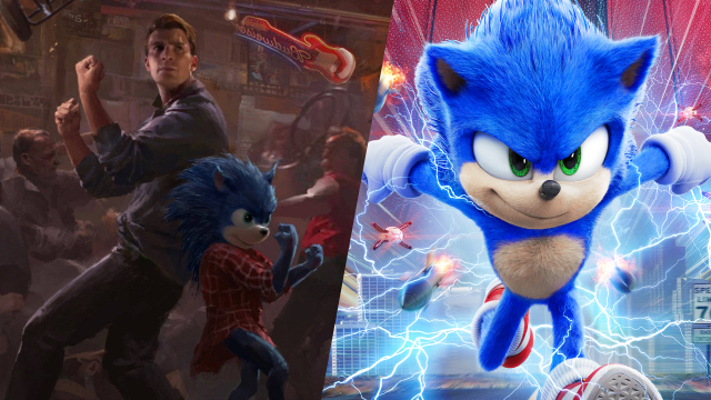 Sonic The Hedgehog Concept Art Reveals Scary Alternative Villain Features Chris Evans
