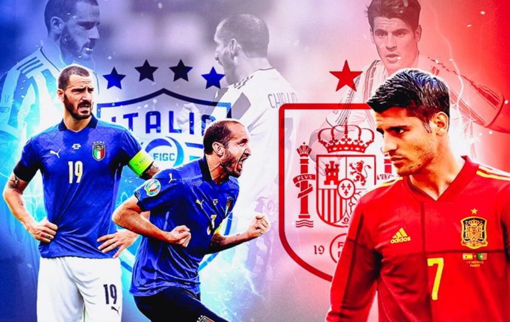 Euro 2020: Italia-Spagna Streaming Diretta Gratis su Rai Uno e Sky Sport