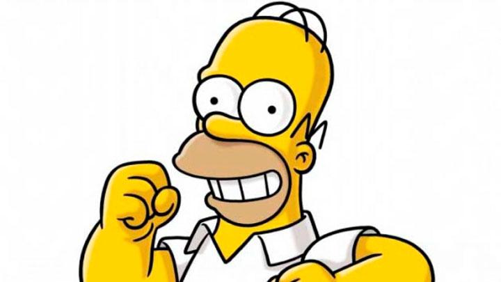 Homero Simpson usó su propio meme en un episodio de la serie
