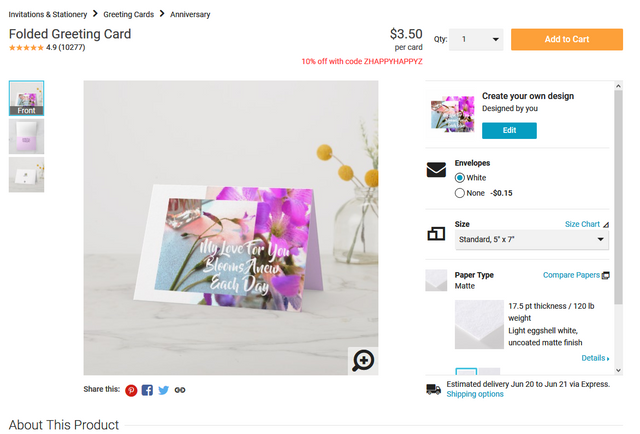 No-Sell-It-Button-Create-your-own-Folded-Greeting-Card-Zazzle-com