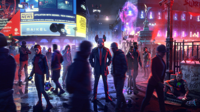 WATCH DOGS LEGION Gameplay Demo Starts Off Ubisoft's E3 2019 Conference; March 6th, 2020 Release Date