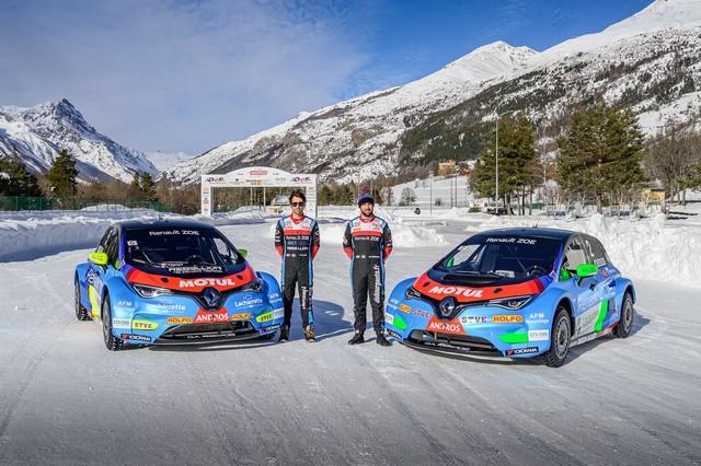 L'heure De La Comfirmation Pour ZOE Glace Et Les Pilotes Du Team Da Racing-Renault-Motul 2020-ZOE-GLACE-e-TROPHEE-Andros-Team-D-A-Racing-Renault-Motul