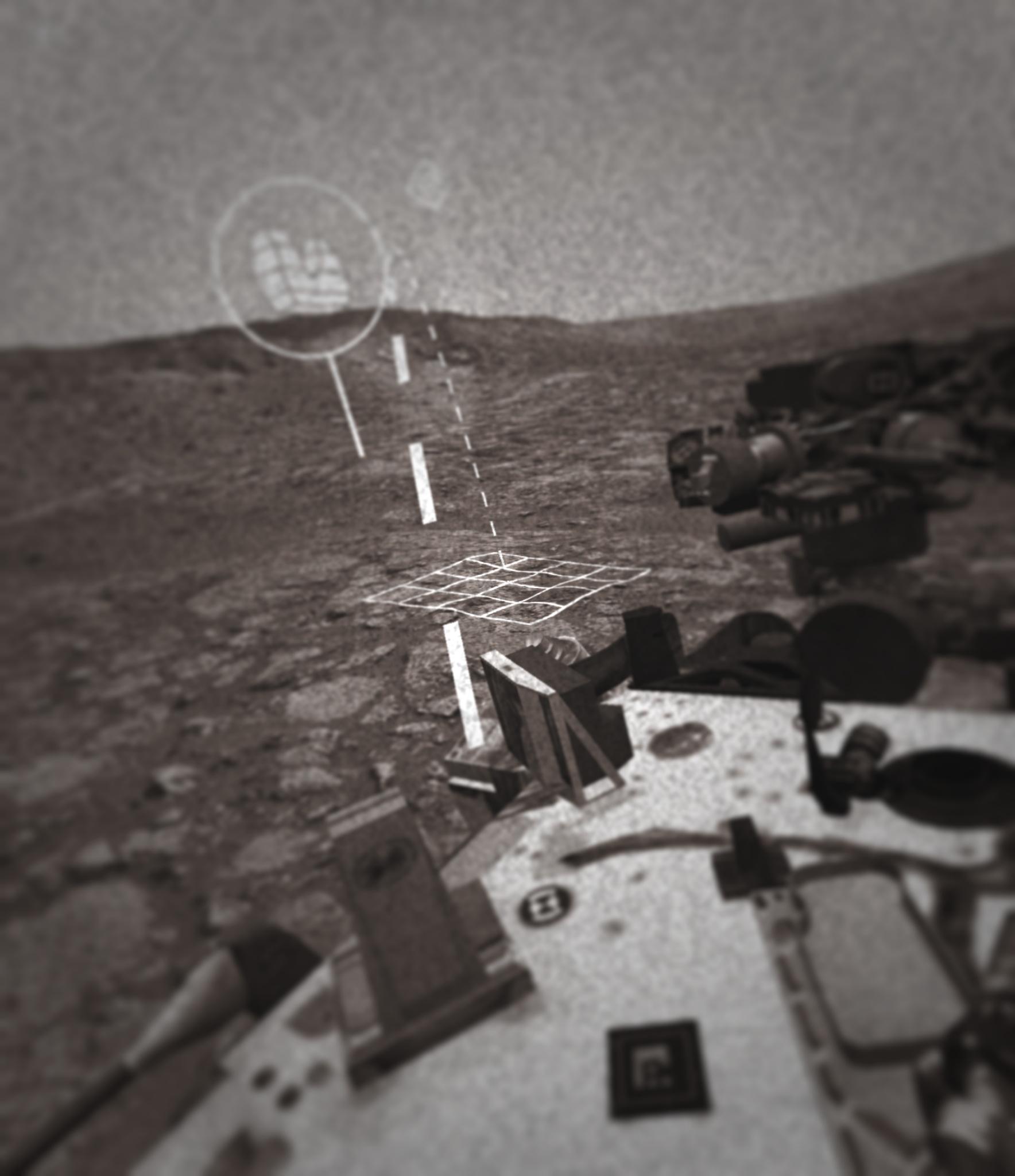 Rover Mars 3D