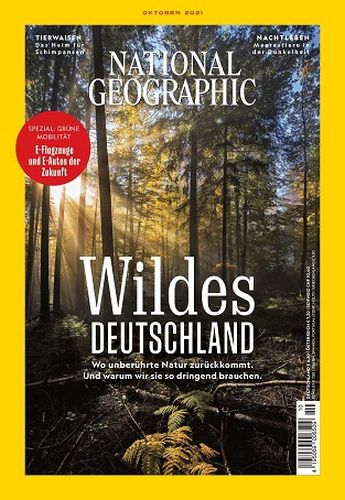 Cover: National Geographic Magazin No 10 Oktober 2021