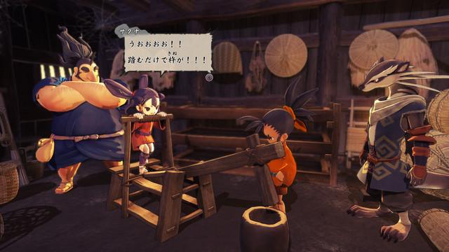 米就是力量!種稻就能變強的和風動作RPG登場! Nintendo Switch™/PlayStation4『天穗之咲稻姬』今日發售! 006-Tool-Fumiusu-00-Jp