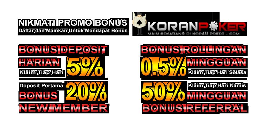 KORANPOKER | Agen Poker Online Indonesia | Daftar Judi