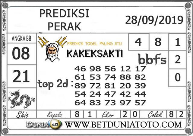 """Prediksi Togel """"PERAK"""" DUNIA4D 28 SEPTEMBER 2019"""