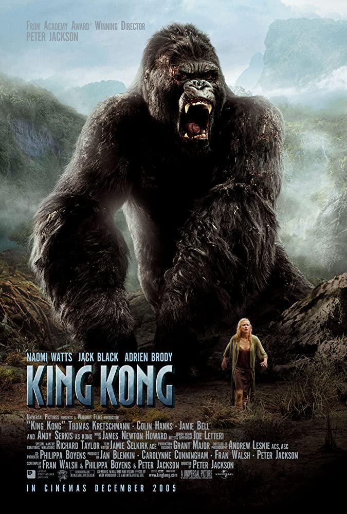 King Kong 2005 Hindi Dual Audio 720p BluRay ESubs 1.2GB   650MB Download