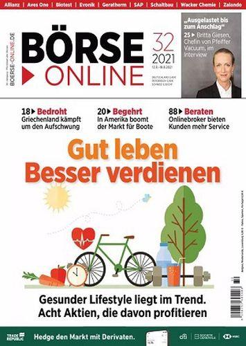 Cover: Börse Online Magazin No 32 vom 12  August 2021