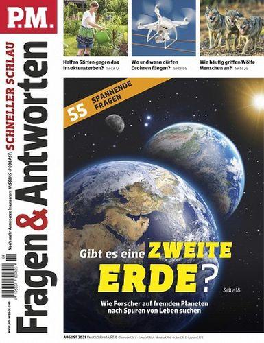 Cover: P M  Fragen und Antworten Magazin No 08 August 2021