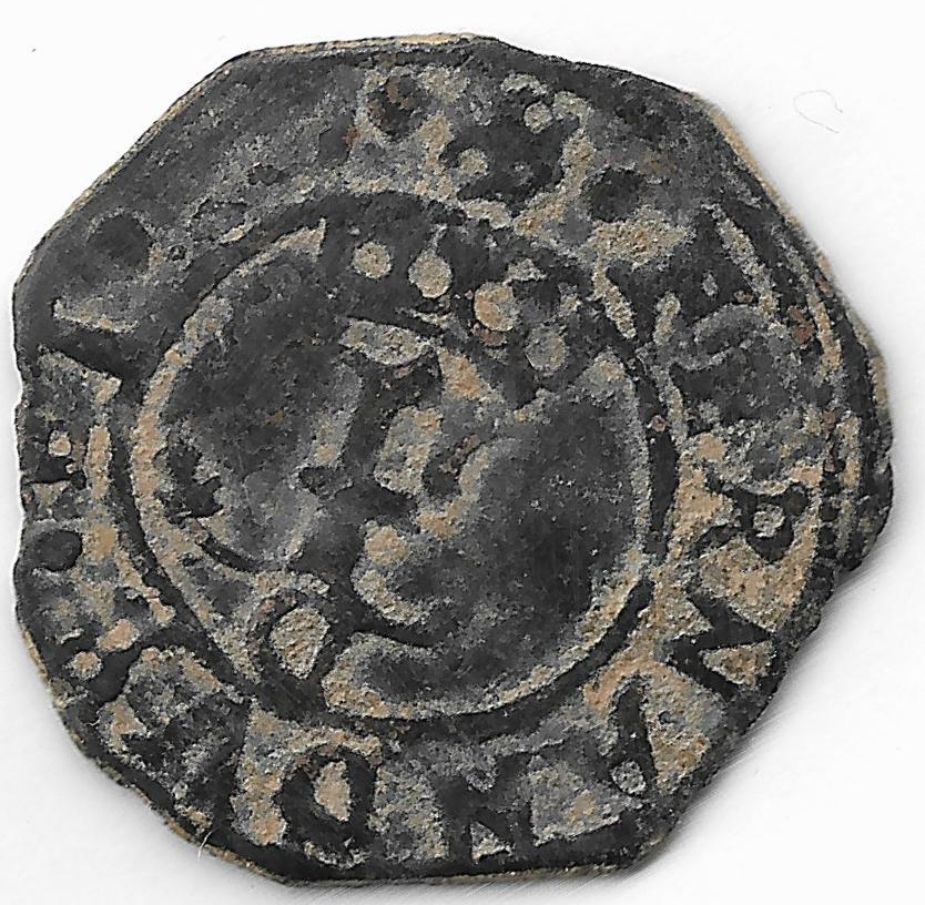 """Blancas reyes católicos - Confusión sobre como identificar las monedas """"a nombre"""" de las de epoca  10002"""
