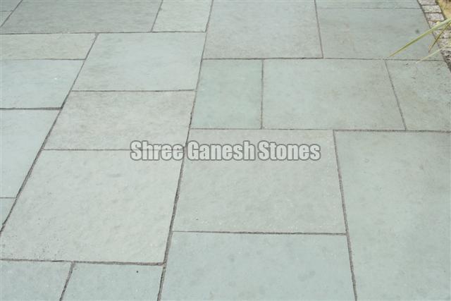 Kota Blue Limestone Paving Stone
