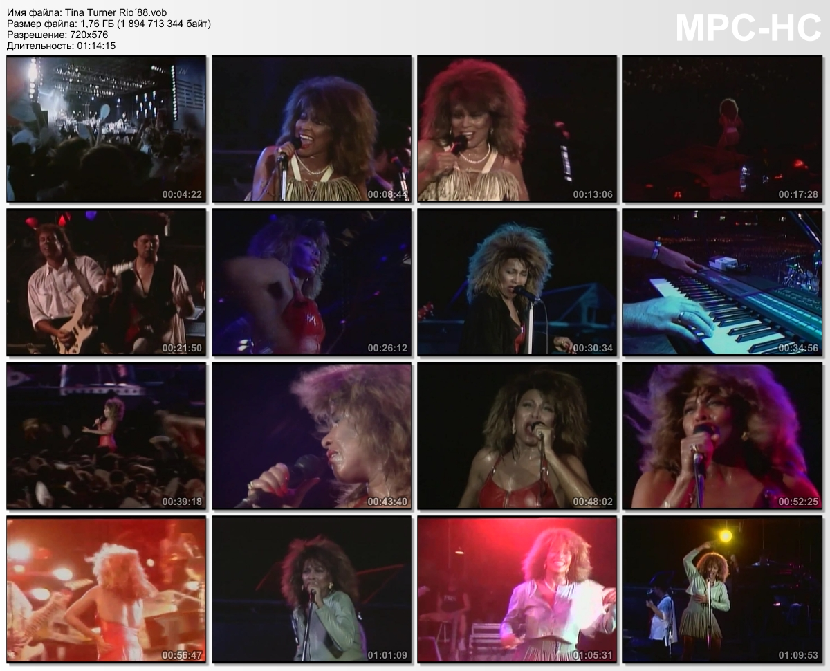 Tina Turner – Rio'88  (1988)