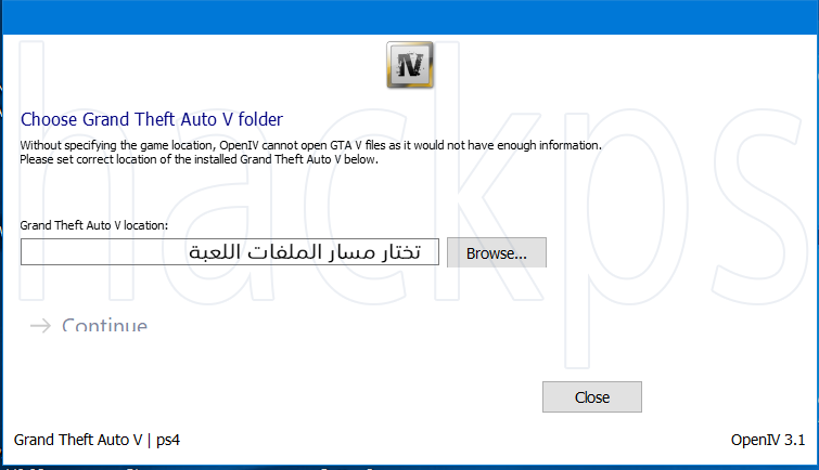السلام عليكم ورحمة الله وبركاته برنامج تحرير الملفات اللعبة GTAV PC.XBOX.PS3.PS4.