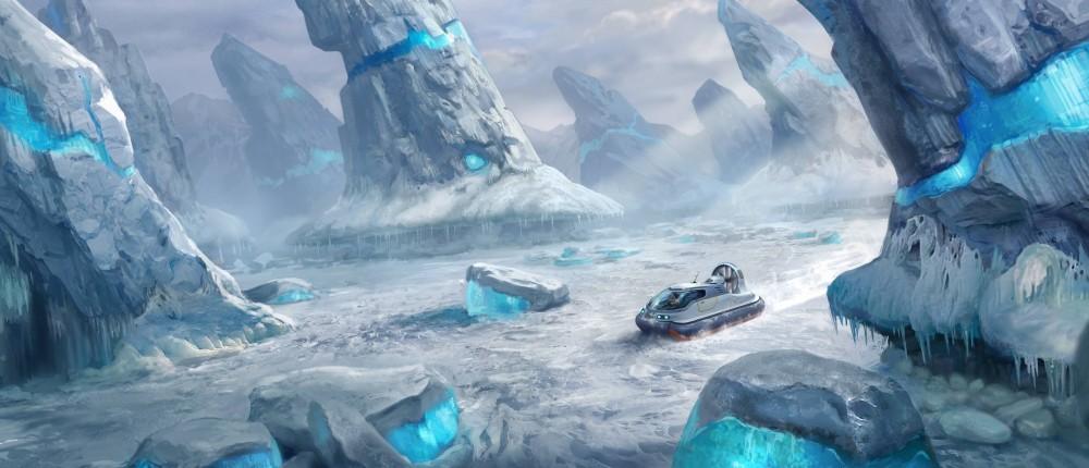 «Зимнее» дополнение для Subnautica, которое отправит игроков исследовать ледники, выйдет через 4 дня