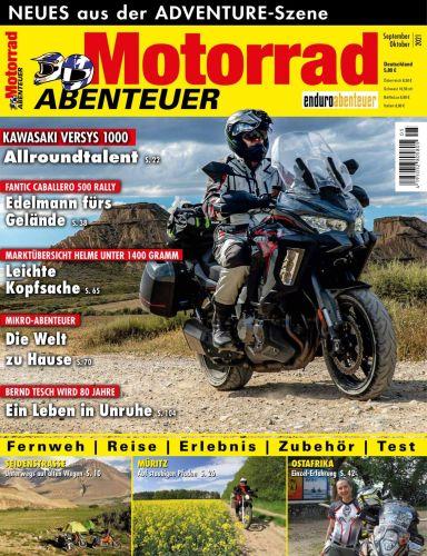 Cover: Motorrad Abenteuer Magazin September-Oktober No 05 2021