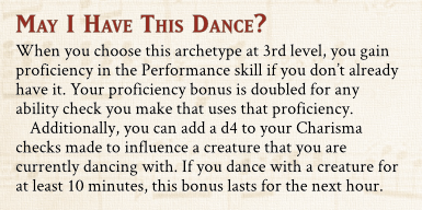 May I Have This Dance feature preview