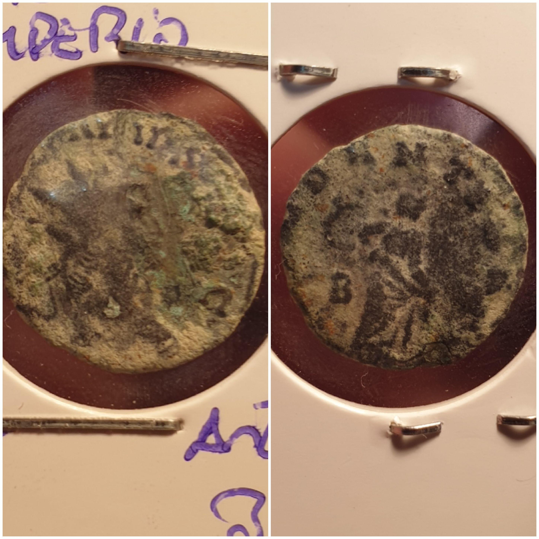 Antoniniano de Galieno. ABVNDANTIA AVG. Abundancia a izq. Roma 20200105-161625