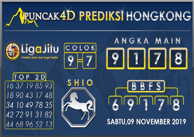 PREDIKSI TOGEL HONGKONG PUNCAK4D 09 NOVEMBER 2019