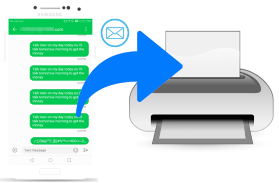 """How Printing SMS from Android with SMS EasyExporter Improves Your Business Strategies?"""""""
