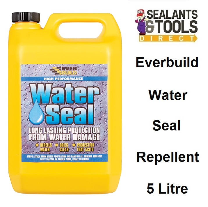 Everbuild 402 Water Seal Water Repellent 5 Litre WAT5