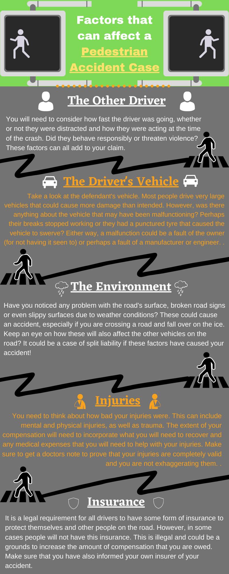 pedestrian accident factors