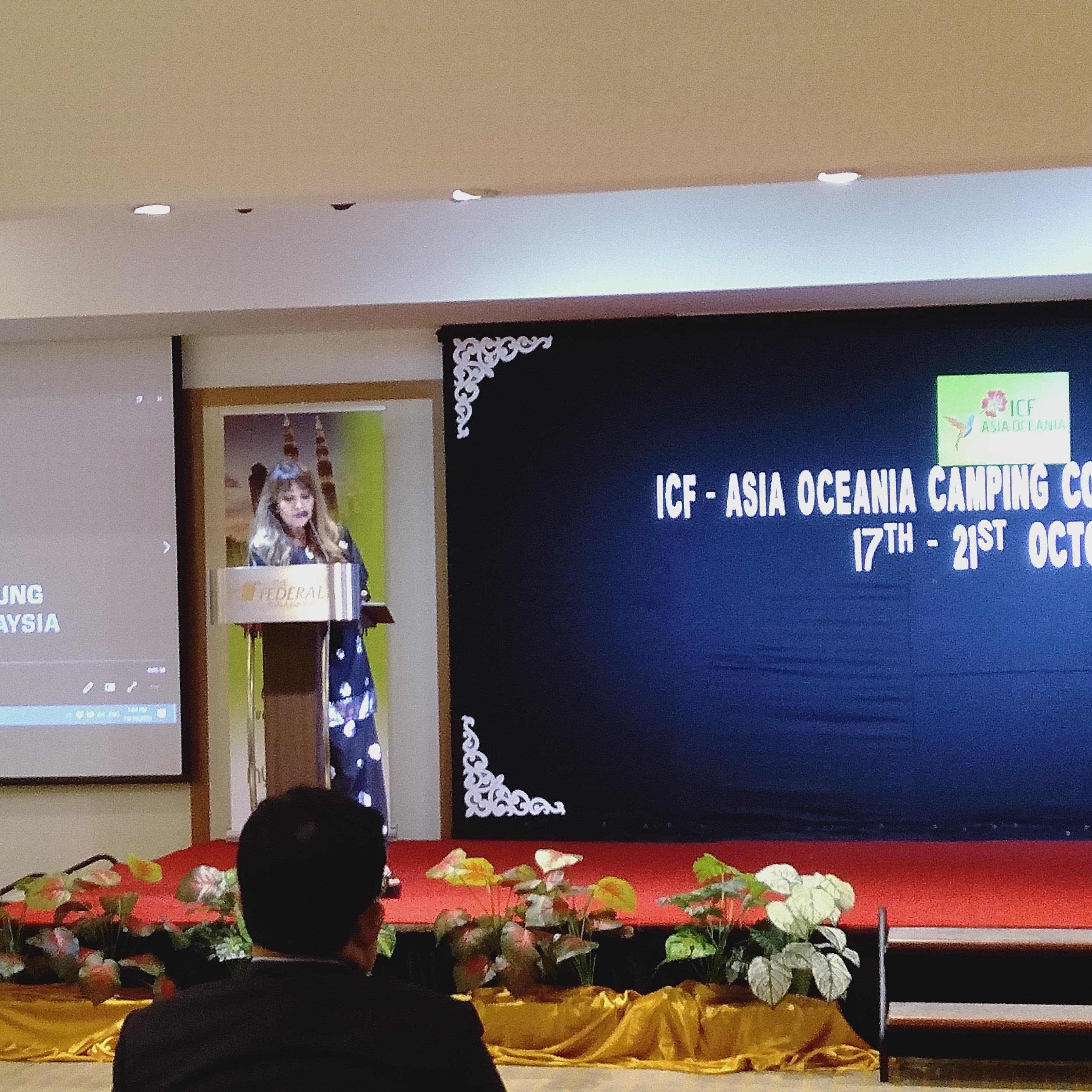ICF aocc Malaysia tanah aina icf asia oceania 2019 glamping camping congress