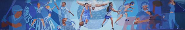 Davis High Mural