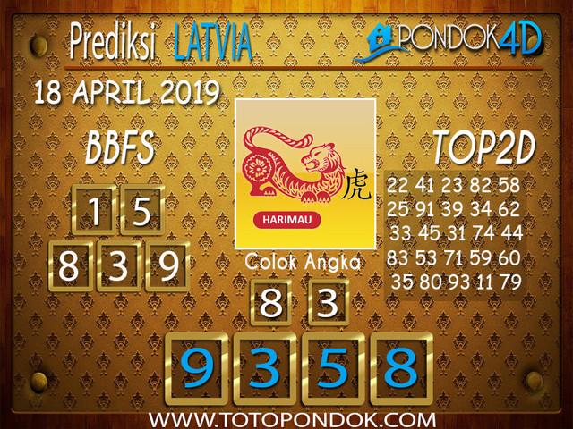 Prediksi Togel LATVIA PONDOK4D 18 APRIL 2019