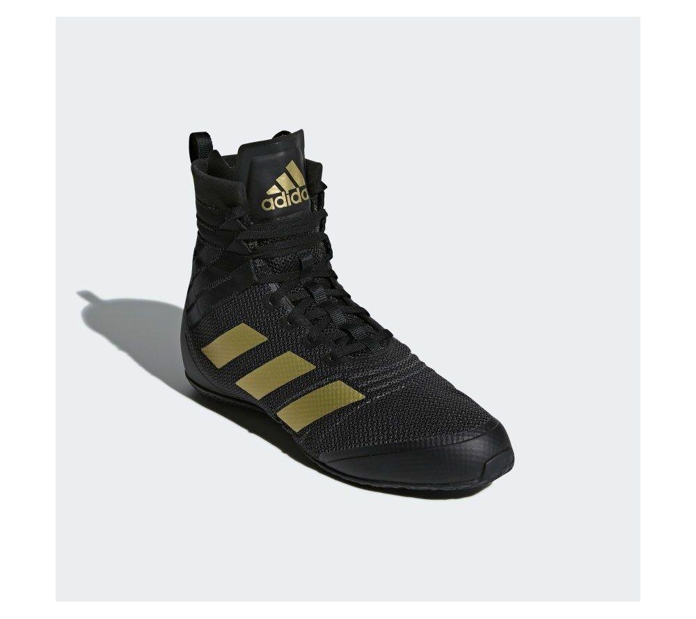 Боксерки Adidas Speedex - черный / золото NEW