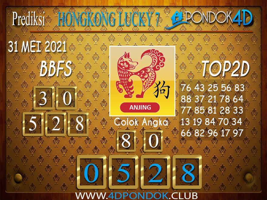 Prediksi Togel HONGKONG LUCKY7 PONDOK4D 01 JUNI 2021