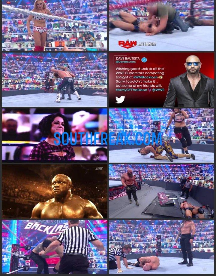 WWE WrestleMania Backlash 2021 PPV 720p WEBRip x264 1.5GB Download