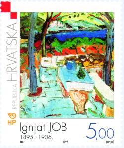 1999. year HRVATSKA-MODERNA-UMJETNOST-IGNJAT-JOB