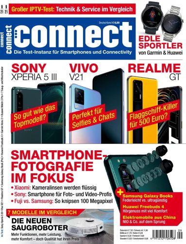 Cover: Connect Magazin für Telekommunikation No 09 2021