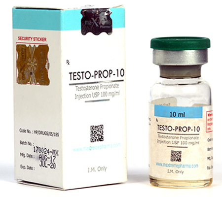 Testo-prop-10 100 mg baclofen