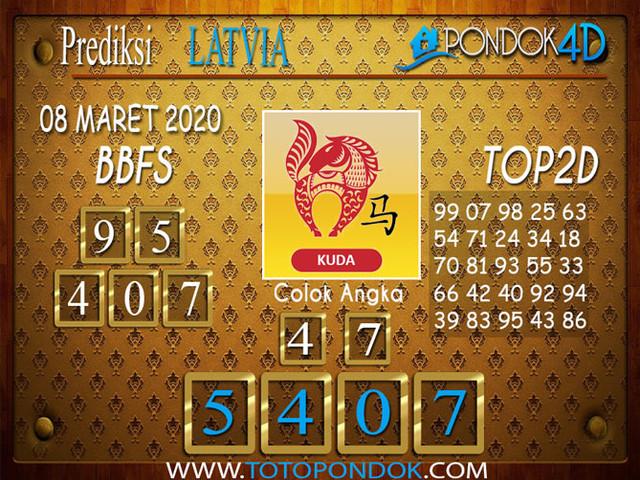 Prediksi Togel LATVIA POOLS PONDOK4D 08 MARET 2020