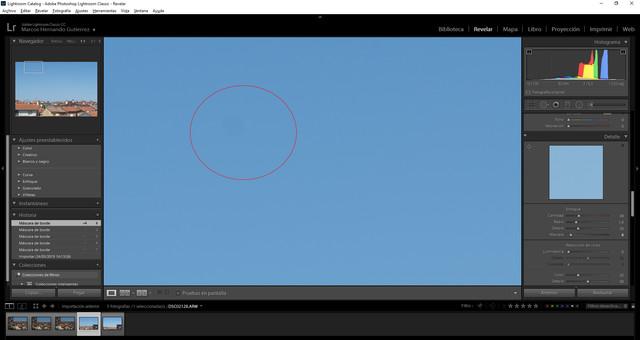 Manchas sensor (Cámara nueva) en Foro Sony A7III-A7II-A7 /Capturamancha