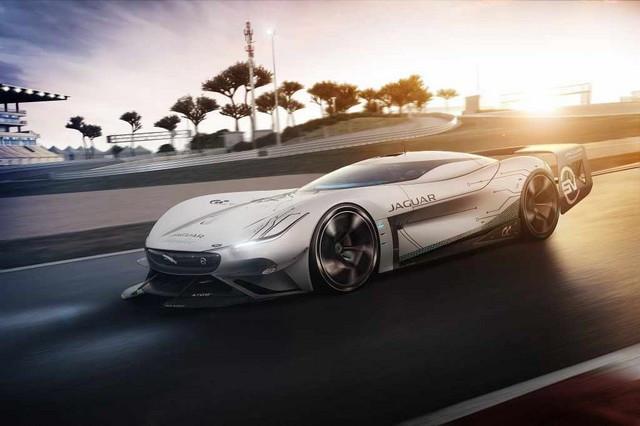 Jaguar Lève Le Voile Sur La Vision Gran Turismo SV : La Voiture De Course 100% Électrique Ultime Pour Les Passionnés De Course Automobile Jag-GTSV-Ontrack-161220
