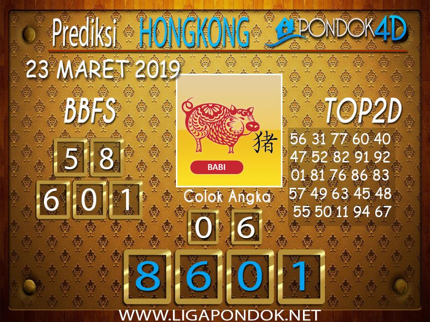 Prediksi Togel  HONGKONG  PONDOK4D 23 MARET 2019