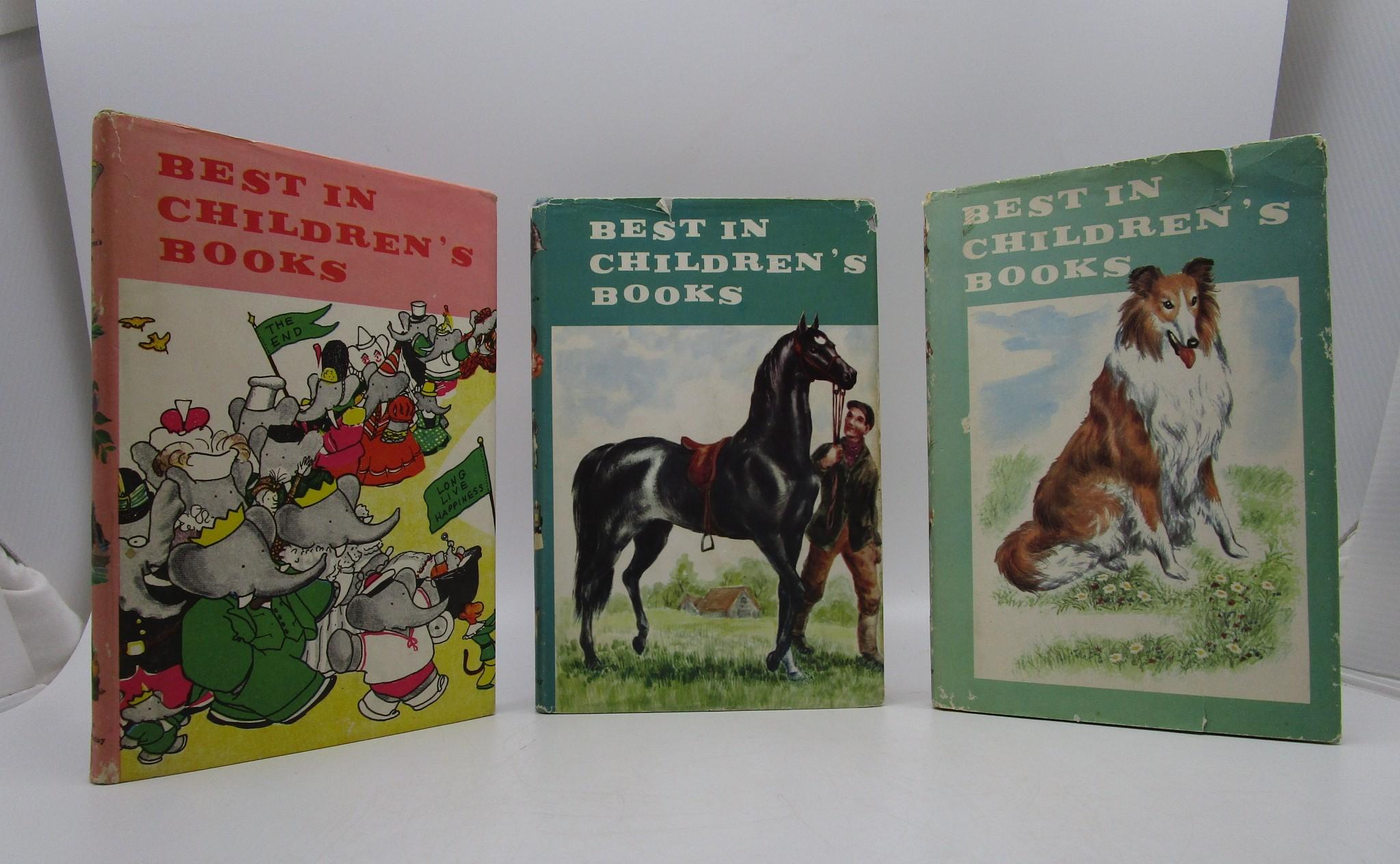 Image for Best In Children's Books (3 Volumes)