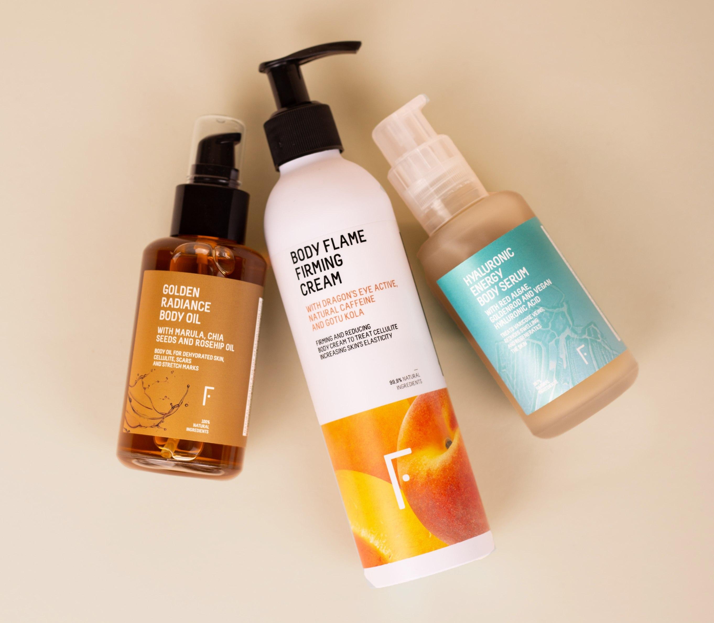 powerful body trio freshly cosmetics