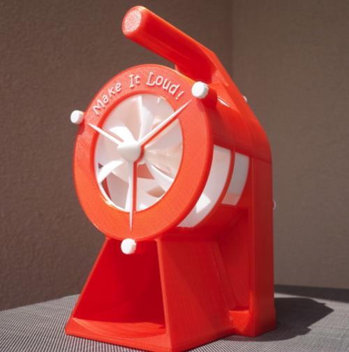 Air Raid Siren - Cool Things to 3D Print