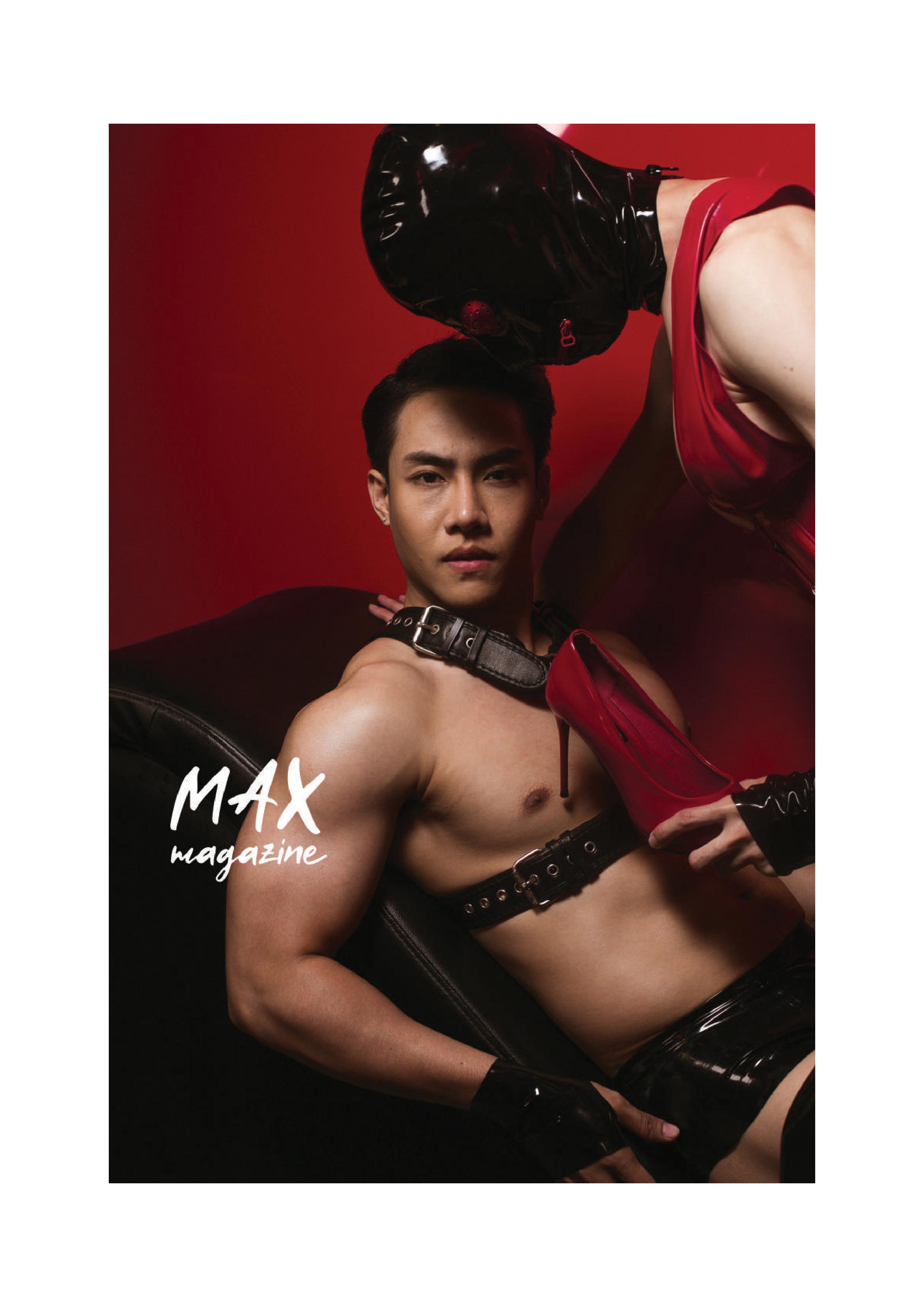MAX 01 | Hack Sathaporn, tra tấn, bú trai thẳng (Non-sex)