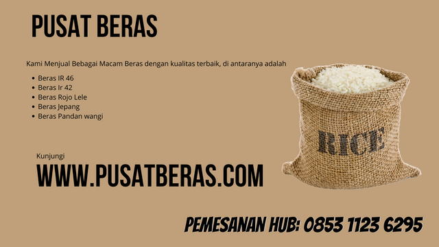 Distributor Beras Murah di Botawa wa 0853 1123 6295