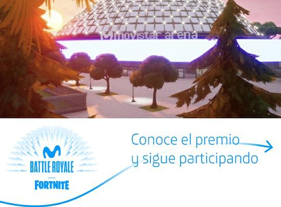 ¡Queda muy poco para el inicio del torneo Fortnite en mapa de Movistar Arena!: El 24 de septiembre comienza la batalla
