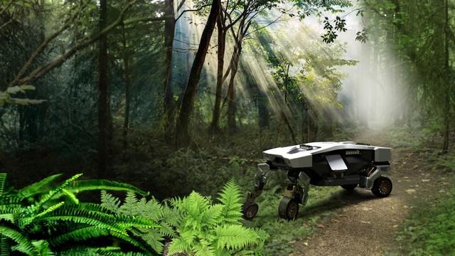 Hyundai dévoile TIGER, un concept de véhicule à mobilité ultime TIGER-Concept-in-Forest